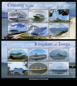 Tonga Scott 1242-1243 Mint never hinged.