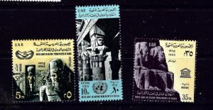 Egypt 681-83 NH 1965 set