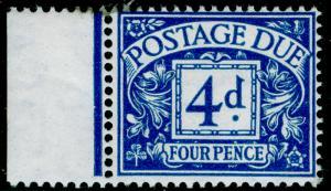 SGD38, 4d blue, NH MINT. Cat £50.