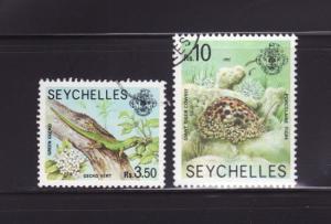 Seychelles 399, 401 U Various