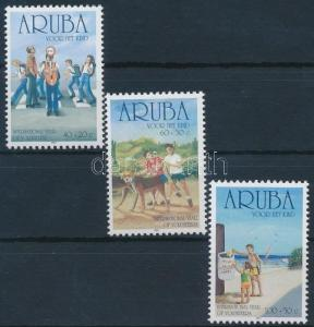 Aruba stamp Youth Volunteers Day set MNH 2001 Mi 282-284 Children WS231159