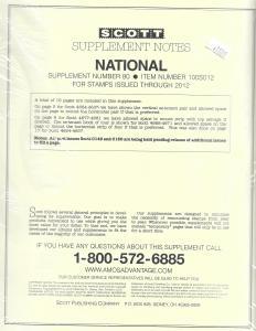 Scott National #80 Supplement 2012