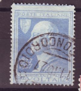 J16941 JLstamps 1927 italy hv of set used #191 volta