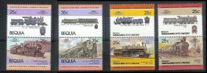 ST VINCENT GRENADINES-BEQUIA Sc#8-34 Partial Set MNH FRESH!