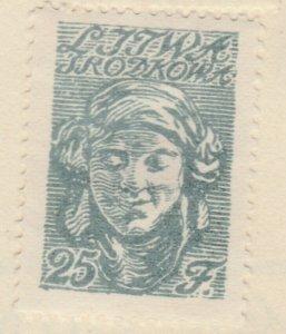 Central Lithuania Mittellitauen Lituanie Lituania 1920 25f MH* A8P11F127
