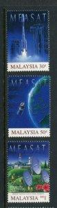 Malaysia MNH 574-6 Space