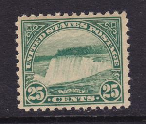 568 VF OG mint never hinged with nice color ! see pic !