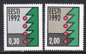 Estonia 235-236 MNH VF