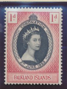 Falkland Islands Stamp Scott #121, Mint Never Hinged - Free U.S. Shipping, Fr...