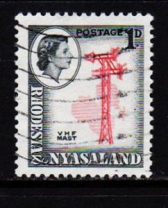 Rhodesia & Nyasaland - #159 V.H.F. Mast  - Used