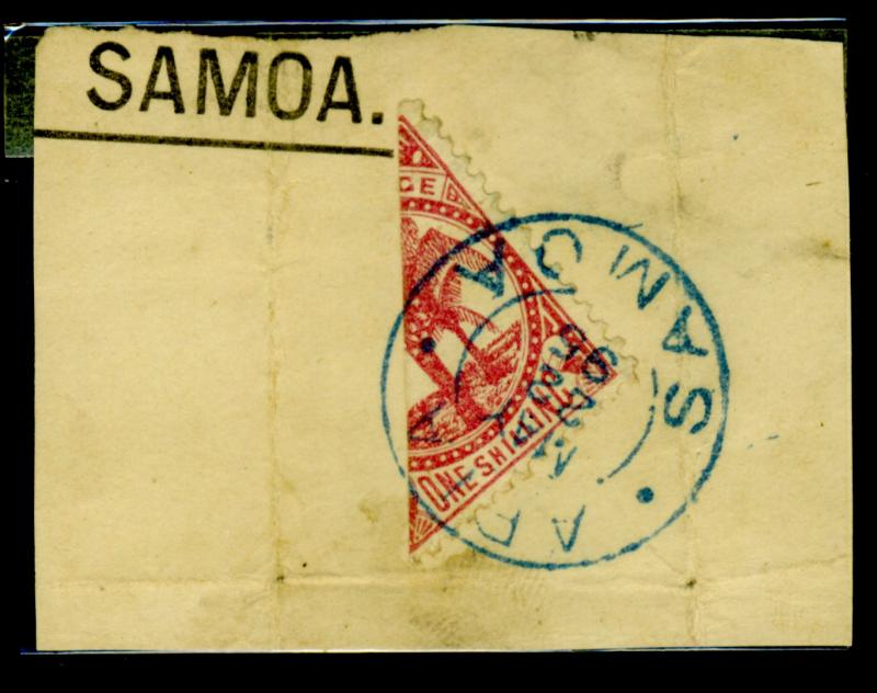 Samoa #18A Used on Piece F-VF Cat$375