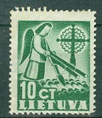 Lithuania - Scott 318 MH