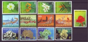 J21900 Jlstamps 3 dif 1997 png sets mnh #912-5,924-7,928-32