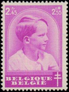 Belgium #B180-B187, Complete Set(8), 1936, Royalty, Never Hinged