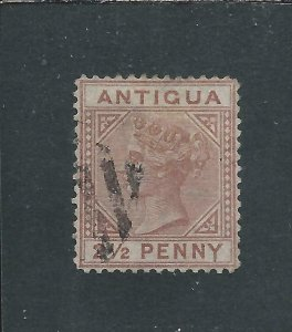 ANTIGUA 1879 2½d RED-BROWN GU SG 19 CAT £170