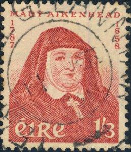 IRLANDE / IRELAND / EIRE - 1958 - SG175 1s3d Sister Marty Aikenhead VF Used