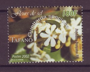 J25492 JLstamps 2002 french poly part of set mh #839 flowers