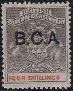 British Central Africa 1891-1895 SC 11 MLH