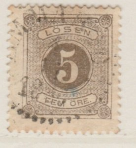 Sweden Postage Due 1874-86 5o Perf 13 Fine Used A13P19F143