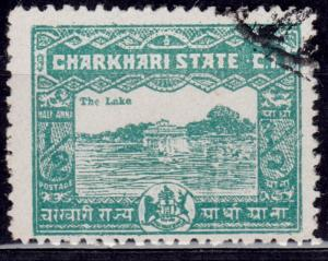 India, Charkhari, 1931, sc#28, used