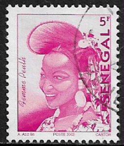 Senegal #1483 Used Stamp - Senegalese Fashion