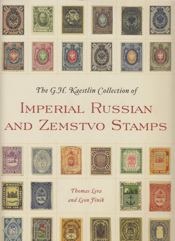 The G.H. Kaestlin Collection of Imperial Russian & Zemstvo Stamps. NEW.