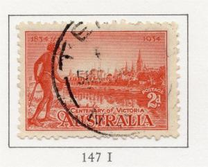 Australia 1934 Early Issue Fine Used 2d. 195928