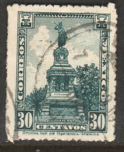 MEXICO 641, 30cents CUAUHTEMOC MONUMENT Unwmk USED. VF.  (391)