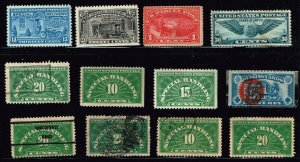 US STAMP BOB, REVENUE, OTHER STAMPS COLLECTION LOT  #3