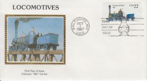 1987 Gowan & Marx Locomotive (Scott 2366) Colorano FDC