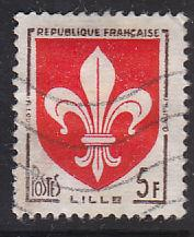 France 902 Hinged Used 1958 Arms of Lille