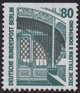 Germany Berlin - 1987 - Scott #9N552 - MNH from booklet - Zollern II