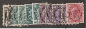 Canada Scott #66-69 Stamp - Used Single