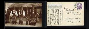 1928 - Hungary Picture postcard - Cultures - Costumes - Peasants from Mezök