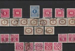 austria officials  stamps ref r12145