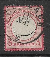 Germany Sc. #9 / Mi. #9 3 Kreuzer used L9