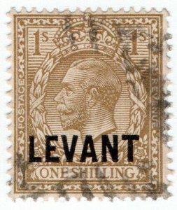 (I.B) Lebanon Postal : British Levant 1/- (SG L23)