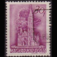 HUNGARY 1939 - Scott# 546 Church 30f Used