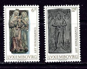 Luxemburg 591-92 MH 176 Art