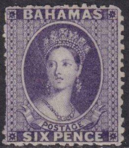 Bahamas 1863-1865 14 Mint Signed