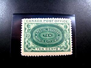 CANADA - SCOTT # E1   -   MH                  (can-45)
