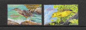 BIRDS -FRENCH POLYNESIA #1178-9  MNH