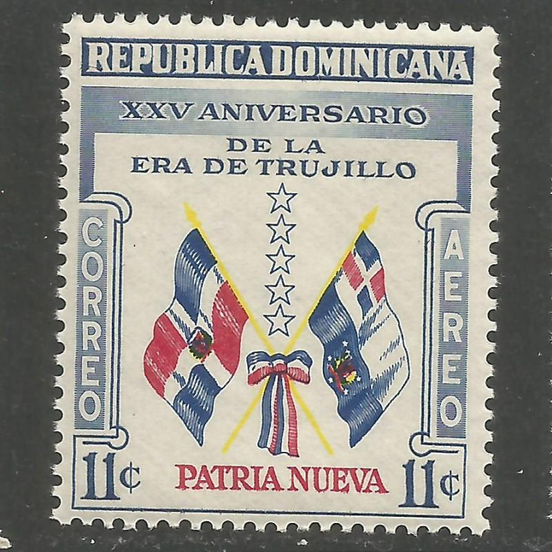 DOMINICAN REPUBLIC  C91 MNH FLAGS Z3902-1