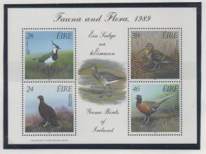 Ireland Sc 758a 1989 Game Birds stamp sheet mint NH