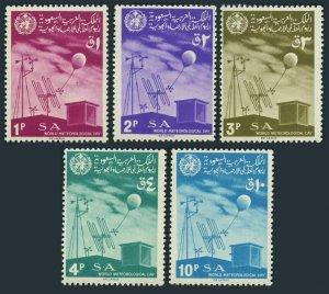 Saudi Arabia 456-460,MNH.Mi 389-393. World Meteorological Day,1967.Instruments.