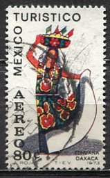 Mexico; 1973: Sc. # C357; O/Used Single Stamp