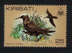 Kiribati Common Noddy Brown Noddy Bird 1v 25c SG#171a SC#392A
