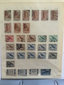 Uruguay 1948-1957 stamp page R24471