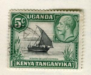 BRITISH KUT; KENYA 1935 early GV issue fine use 5c. value