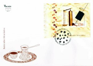 BOSNIA & HERZEGOVINA / 2017, (FDC) Cultural Heritage - Handy coffee grinder, MNH